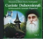 Cd- Cuvinte Duhovnicești Vol 1. M-rea Sfânta Maria Techirghiol