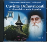 Cd- Cuvinte Duhovnicești Vol 2. M-rea Sfânta Maria Techirghiol