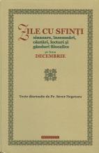Zile Cu Sfinți. Sinaxare, însemnări, Cântări, Lecturi și Gânduri Filocalice Pe Luna Decembrie