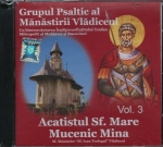 Cd- Acatistul Sf Mare Mucenic Mina Vol 3