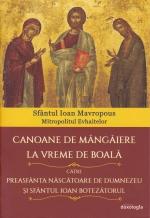 Canoane De Mângâiere La Vreme De Boală Către Preasfânta Născătoare De Dumnezeu și Sfântul Ioan Botezătorul