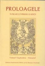 Proloagele în Fiecare Zi împreună Cu Sfinții Vol 1 (septembrie- Februarie)