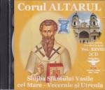 Cd - Slujba Sf Vasile Cel Mare Vecernie Si Utrenia Vol 28( Contine 2 Cd)