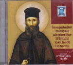 Cd - Invesmantari Muzicale Ale Poeziilor Sf Ioan Iacob Hozevitul